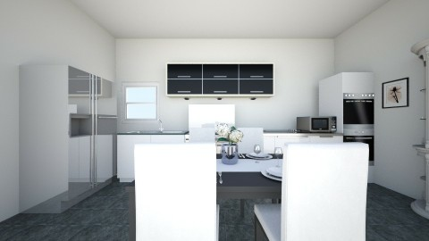 1st Floor Kitchen Dining - Classic - Kitchen - by TailaHot