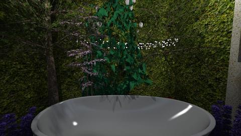 OutsideBath - Global - Bathroom - by LittleBeauPeep