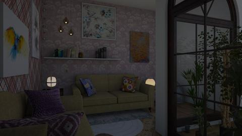 paraiso - Living room - by wiwa