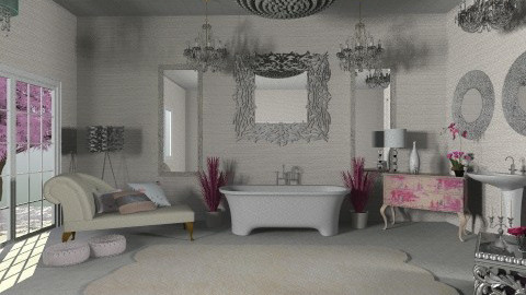 Glam Bath - Glamour - Bathroom - by Calolynn