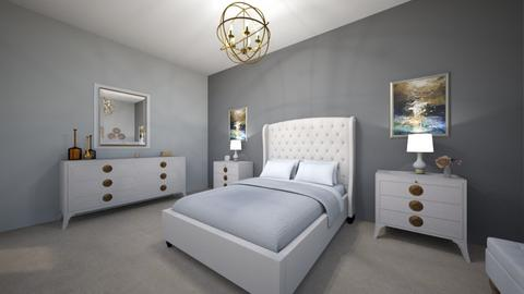 Master Bedroom 1 A4 - Modern - Bedroom - by Christine Ward_877