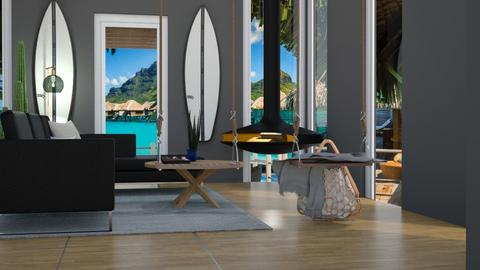 Surf Culture Living Room - Living room - by helsewhi