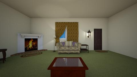 Family Home LR 1970 - Living room - by WestVirginiaRebel