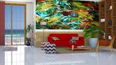 Art tropical - Living room - by Alecio