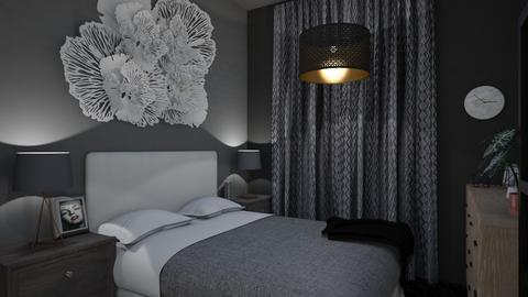 jess bedroom - Modern - Bedroom - by shaun the emu