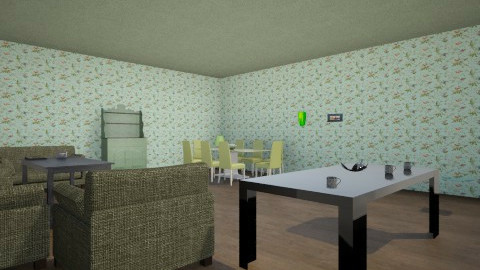 dining living /2 - Dining room - by Raouf Sassine