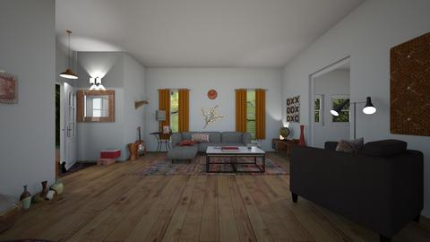 work - Living room - by jdenae3