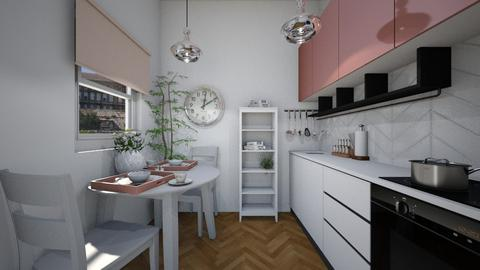 spring - Kitchen - by Sali15