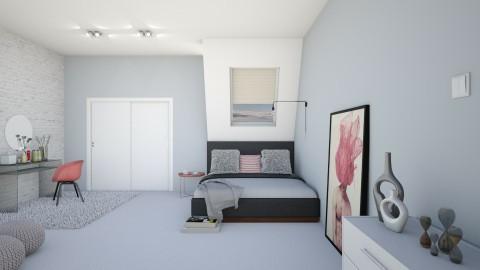 Powder frozen rose - Bedroom - by agapka