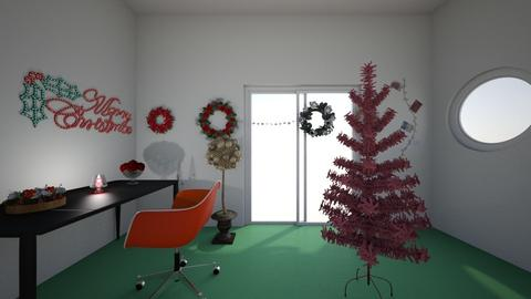 Christmas room - by house4159