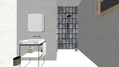 Downstairs Bathroom - Bathroom - by Tinksfaith