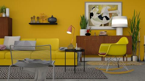 Mid Century Living - Retro - Living room - by HenkRetro1960