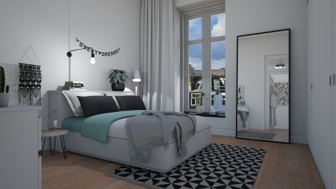 New home_master bedroom - by RenoirA
