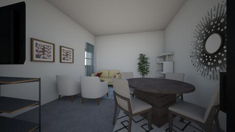 salon almudena 1 - Living room - by tereformo