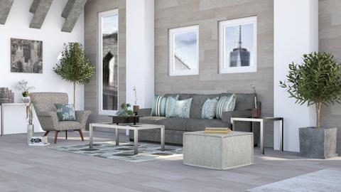 Style with Grey - Rustic - Living room - by millerfam