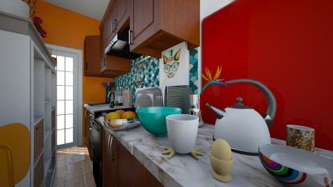 Apertura - Kitchen - by Gabriela Vaca Pliego