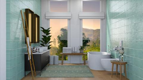 Delhi Master Bathroom - Bathroom - by sabaclayes