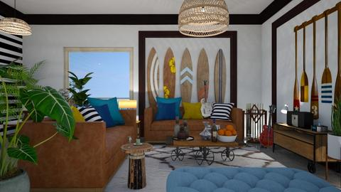 Surf culture  Living - Living room - by matina1976