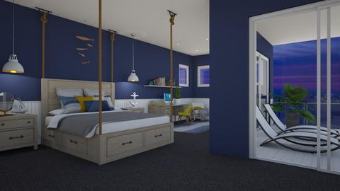Coastal Bedroom  - Bedroom - by LiveItUp