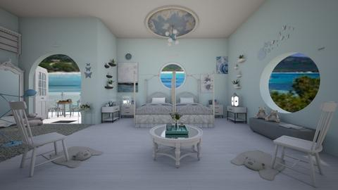 Coastal Bedroom - by Avril55