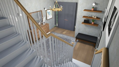 stairs - Living room - by mayssa ltf