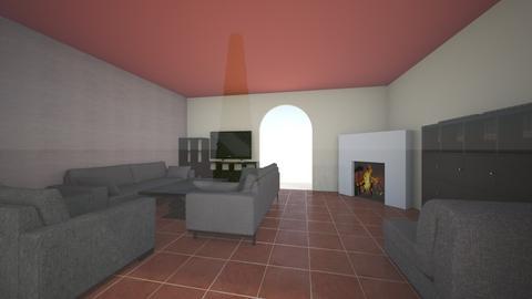 nappali_budafok_red - Living room - by doralocsi
