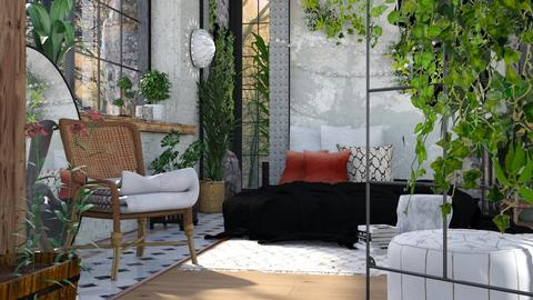 Urban Jungle - Eclectic - Bedroom - by evahassing