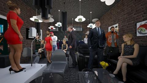 Lazy Pub - Modern - by RollPinkEra