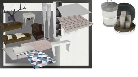 living room board grey - by Lidrafsaw LidrafSaw
