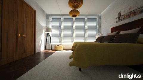 bedroom - Bedroom - by DMLights-user-989410