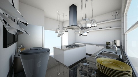 MINIMAL KITCHEN  - Minimal - Kitchen - by alorahkplove