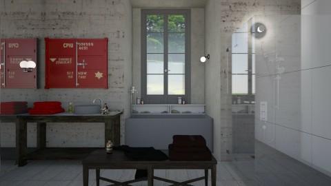 industrial bathroom2 - by vagrfd