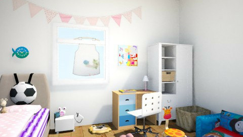 Zelos Room - Kids room - by menkymunky