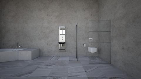 pure industrial vibe - Minimal - Bathroom - by kitty