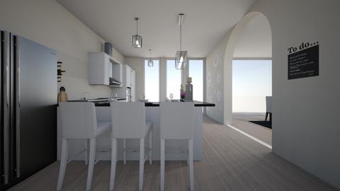 house  - Kitchen - by nikolinajadanic