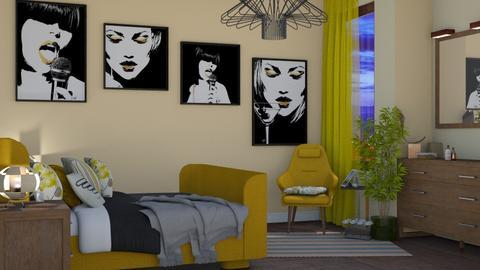 famous - Bedroom - by snjeskasmjeska
