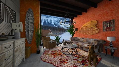 winter - Living room - by yulamalina