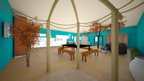 Bohemian Combo - Living room - by Katia Birch
