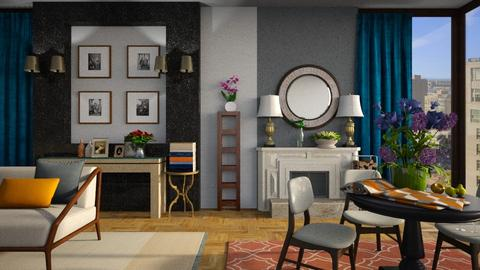 Apartment - Living room - by Inna_Inas