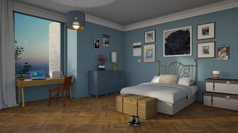 Teenage room  - Classic - Bedroom - by tolo13lolo