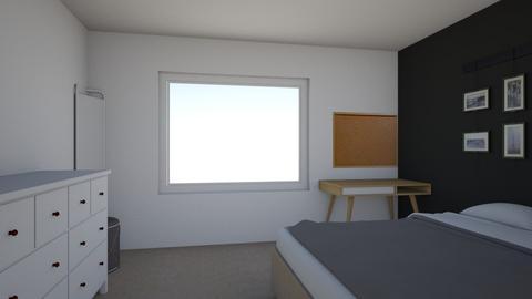 MY ROOM - Bedroom - by juliavalerie