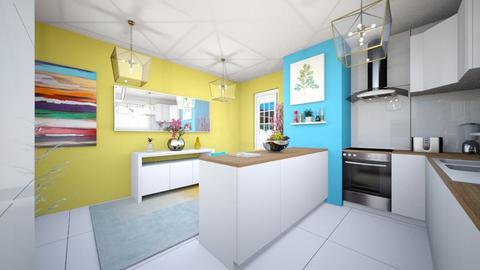 my kitchen - Modern - Kitchen - by Popa Bianca Rozalia