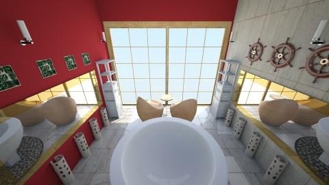 Douche 7 - Glamour - Bathroom - by Mah003