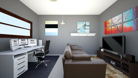 Recreation Room - Office - by _Surge_