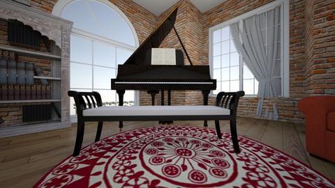 ref music room - by finanhu