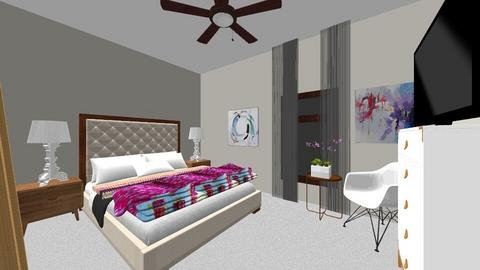 Guest Bedroom Overcrest - Bedroom - by natalielsherman