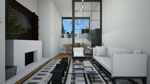 Casa149LivingRoom - Masculine - Living room - by nickynunes