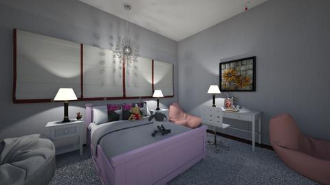 Collectors Bedroom  - Bedroom - by HyperPiper