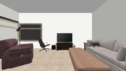 Layout Idea 1 - Living room - by brownridge9100