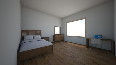 John Smith bedroom - Modern - Bedroom - by em_goode